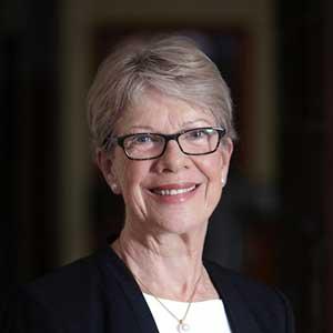 Portrait shot of Clare Martin