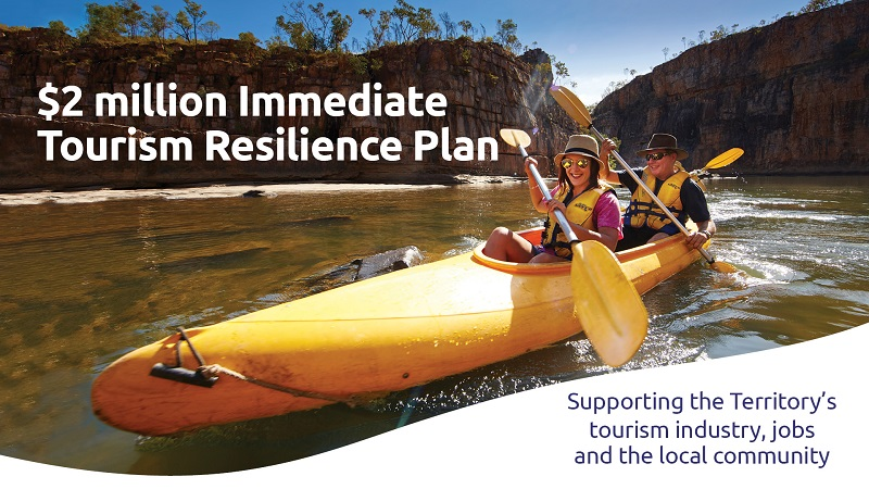 $2 million Immediate Tourism Resilience Plan, supporting the Territory's tourism industry, jobs and the local community