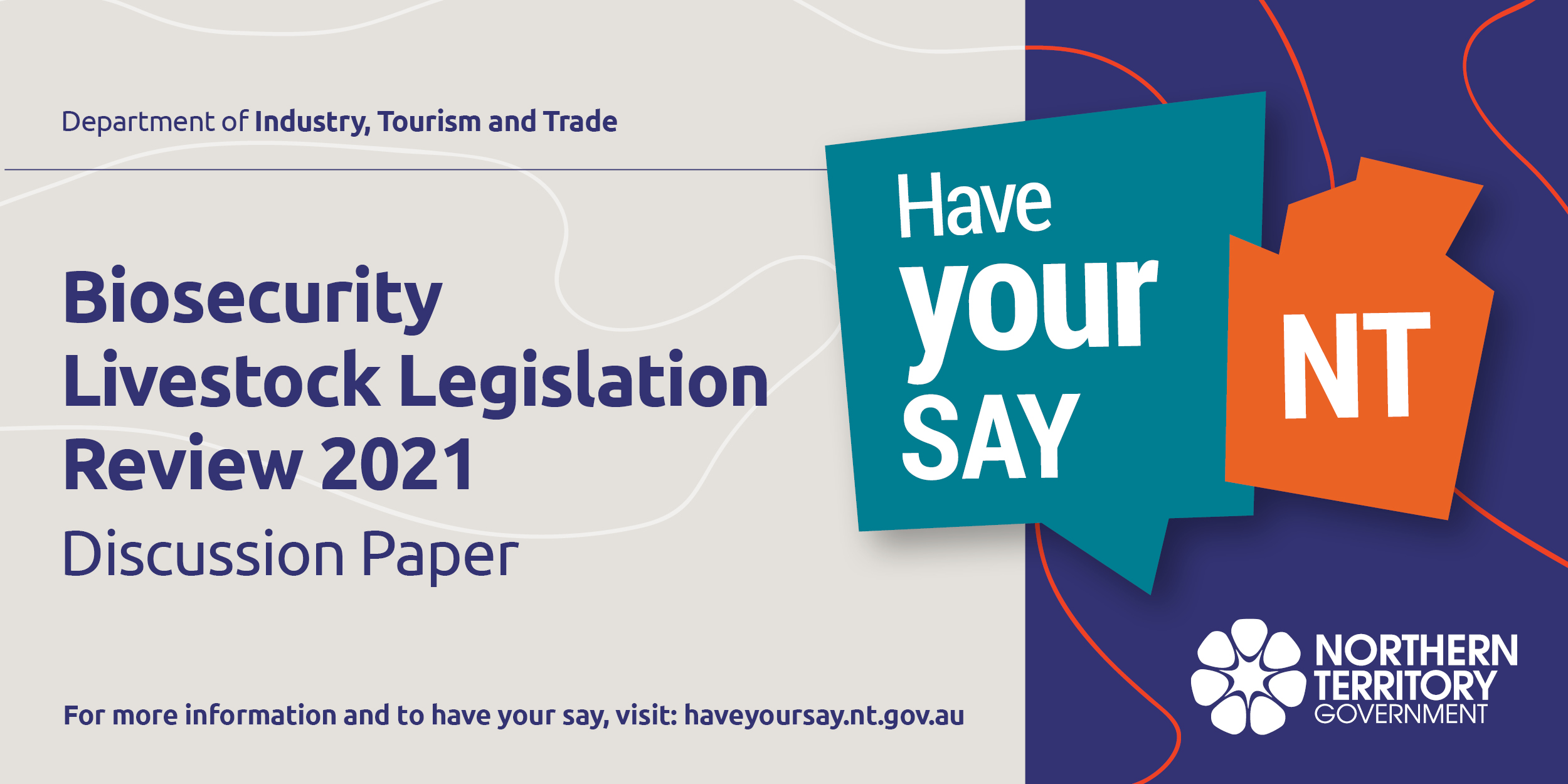 Biosecurity livestock legislation review 2021 discussion paper - have your say NT