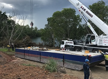 Work underway at Rum Jungle