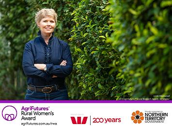 Linda Blackwood - 2018 NT Rural Women's Award winner