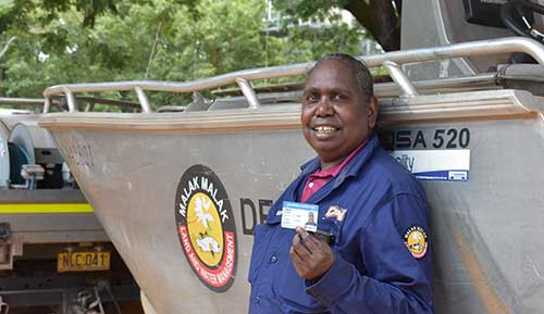 NT's first female Aboriginal fisheries inspector