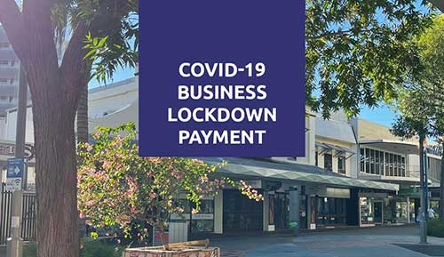Supporting small business with immediate lockdown payments
