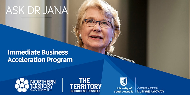 Ask Dr Jana - immediate business acceleration program