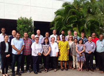 The 21 Crawford Fund Master Class participants in Penang