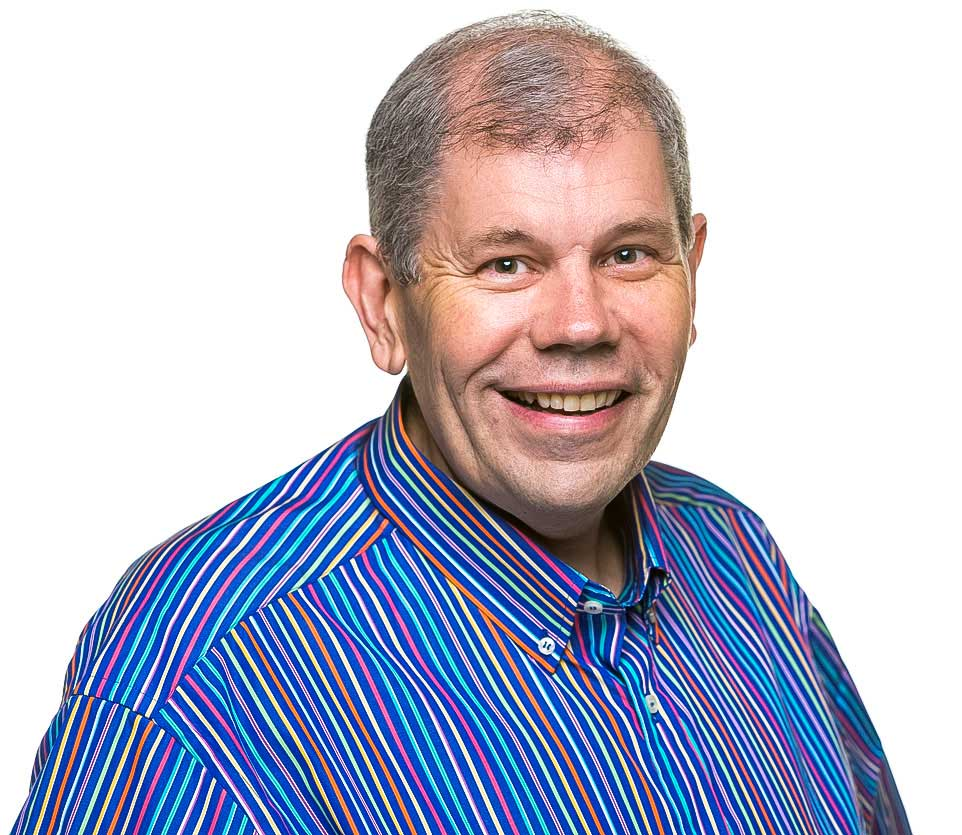 Portrait shot of David Staughton