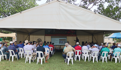 Field days to present research findings