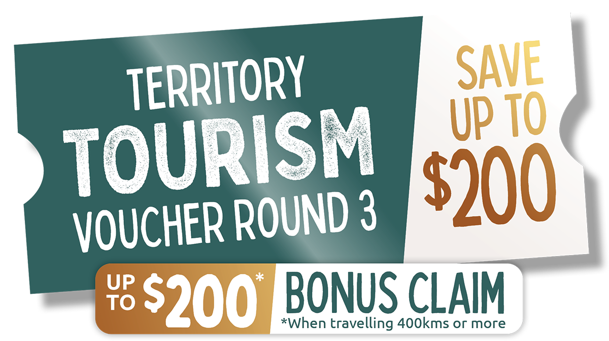Territory Tourism voucher round 3, save up to $200