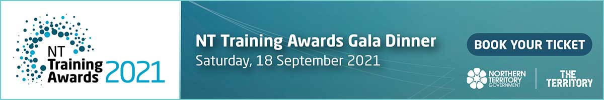 NT Training Awards gala dinner, 18 September 2021, book your ticket