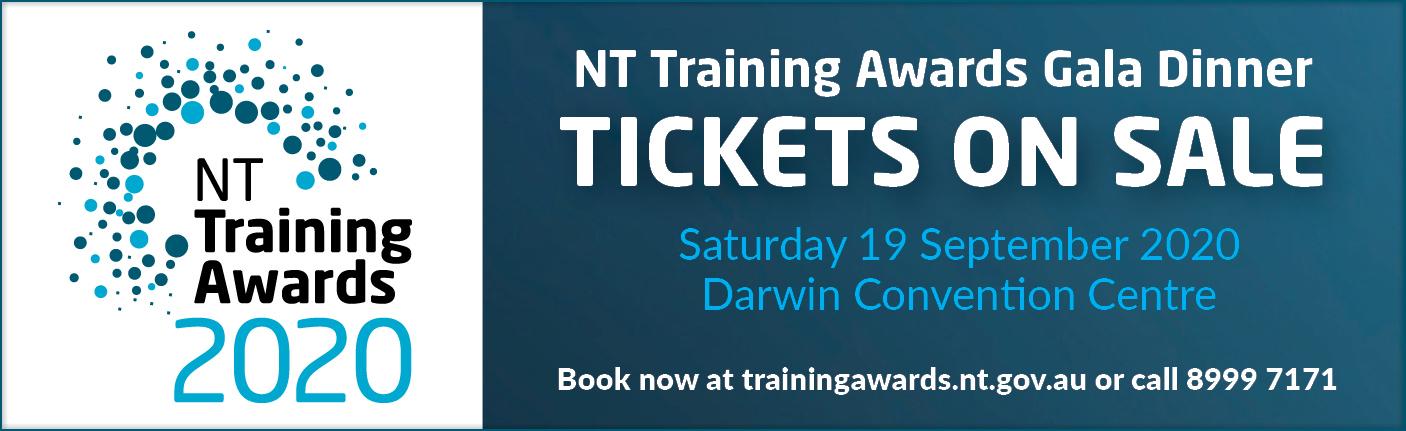 NT Training Awards Gala Dinner - tickets on sale