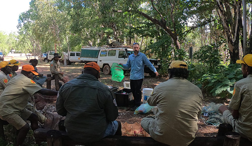 Building capacity in Arnhem Land