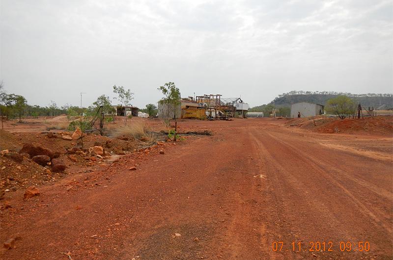 Redbank plant area looking north-east (2012)