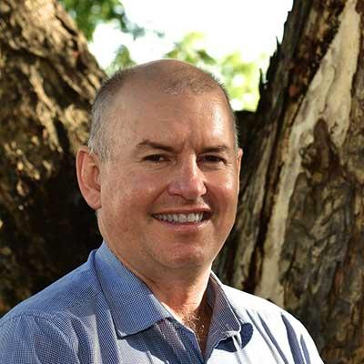 Portrait shot of Phil Hausler
