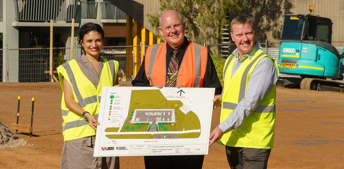 Concept plans of new aged care training facility