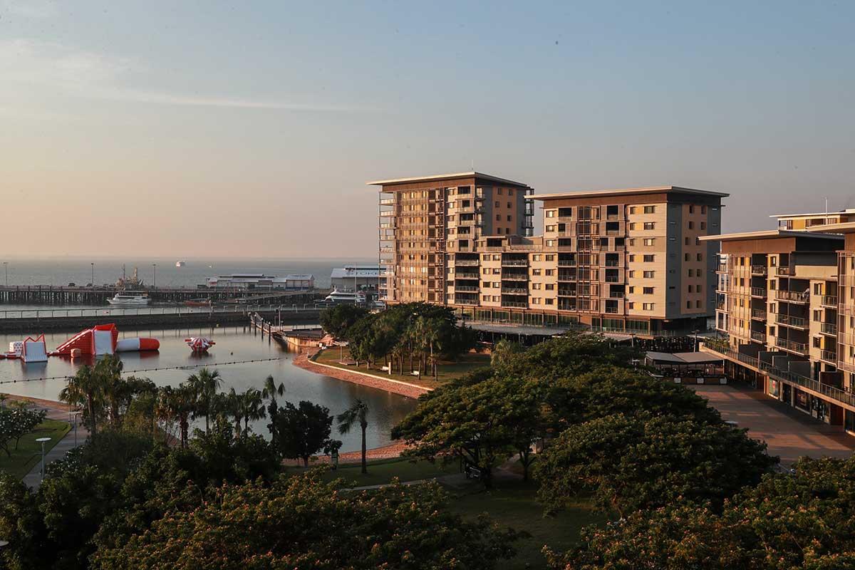 Buildings at Darwin Waterfront