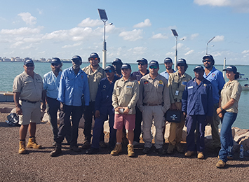 New partnership in training development for fisheries compliance